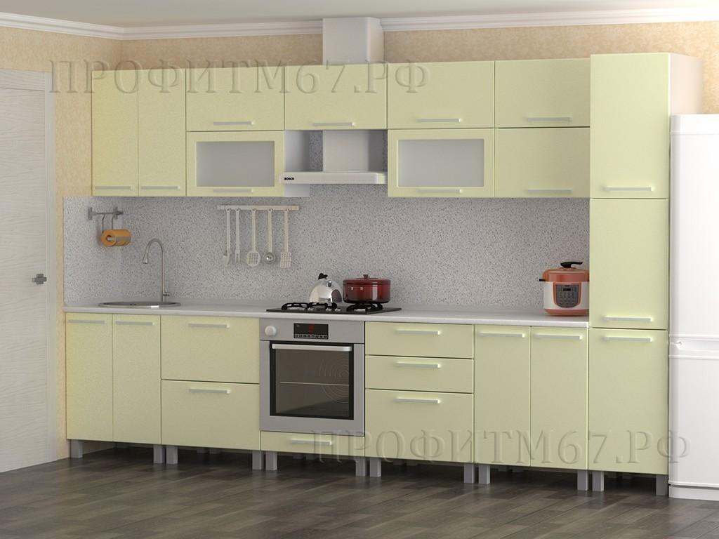 """Кухонные модули """"Кремовый металлик"""""""
