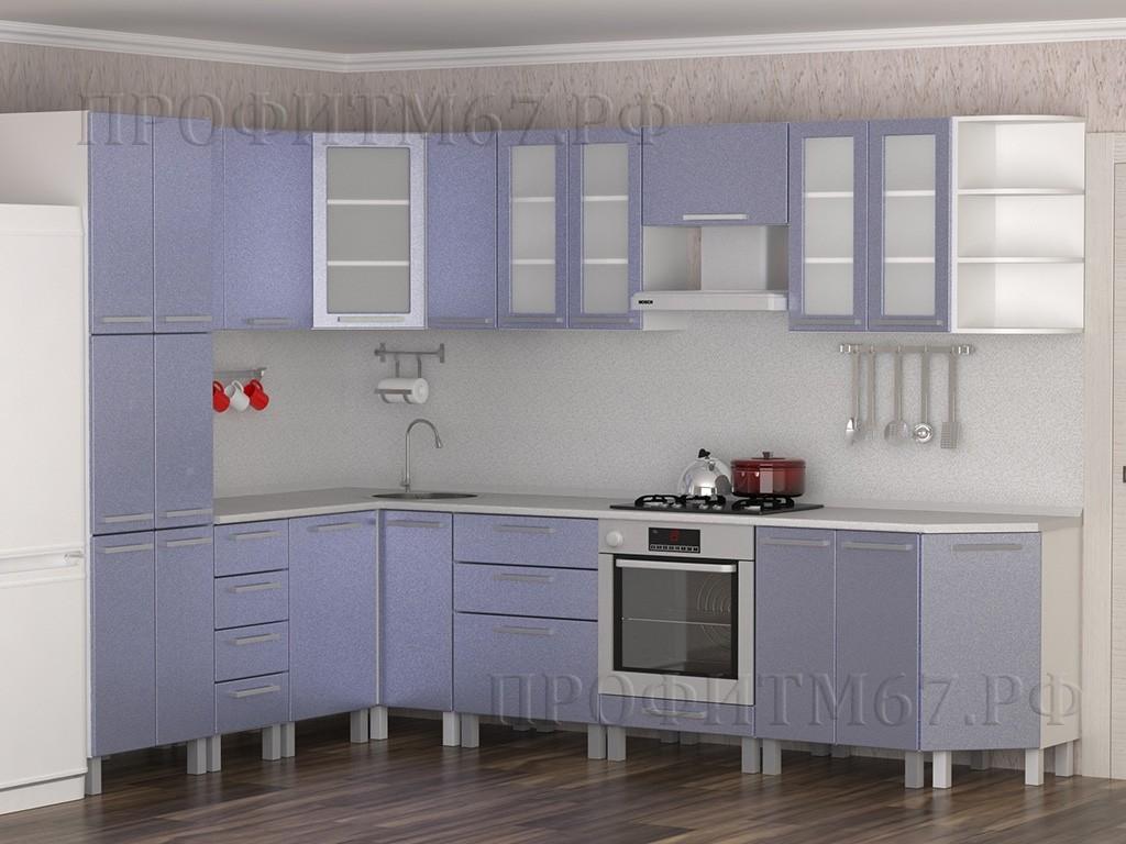 """Кухонные модули """"Небесный металлик"""""""