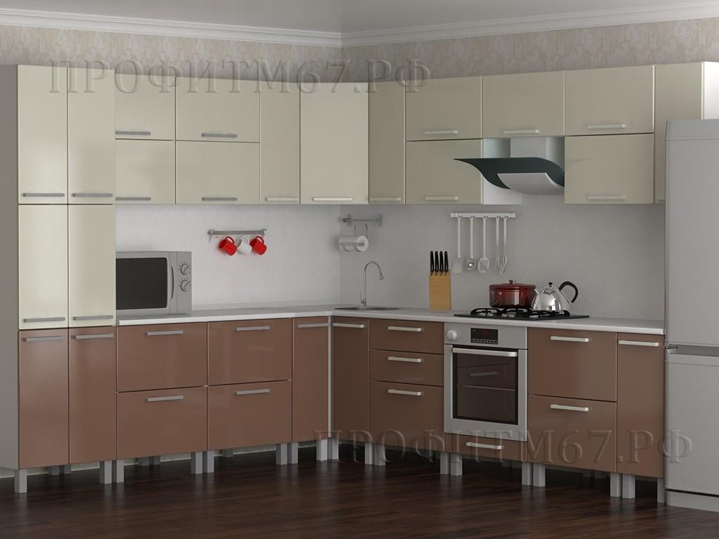 Кухонные модули «Жемчуг - Капучино»