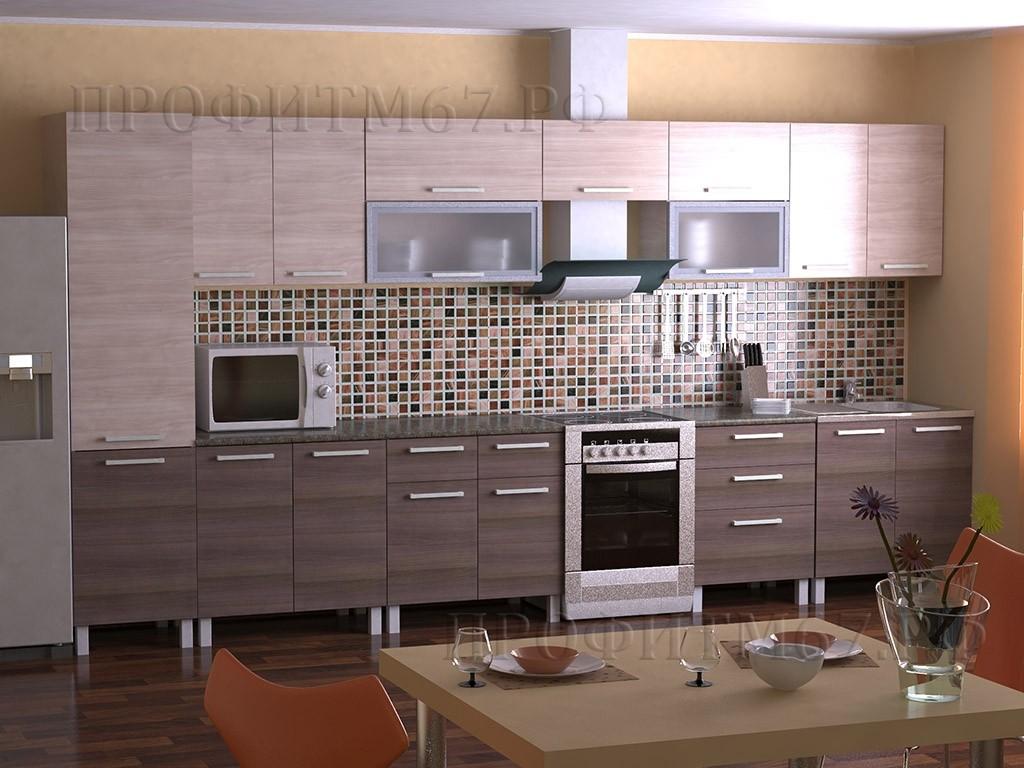 "Кухонные модули ""Ясень шимо"""