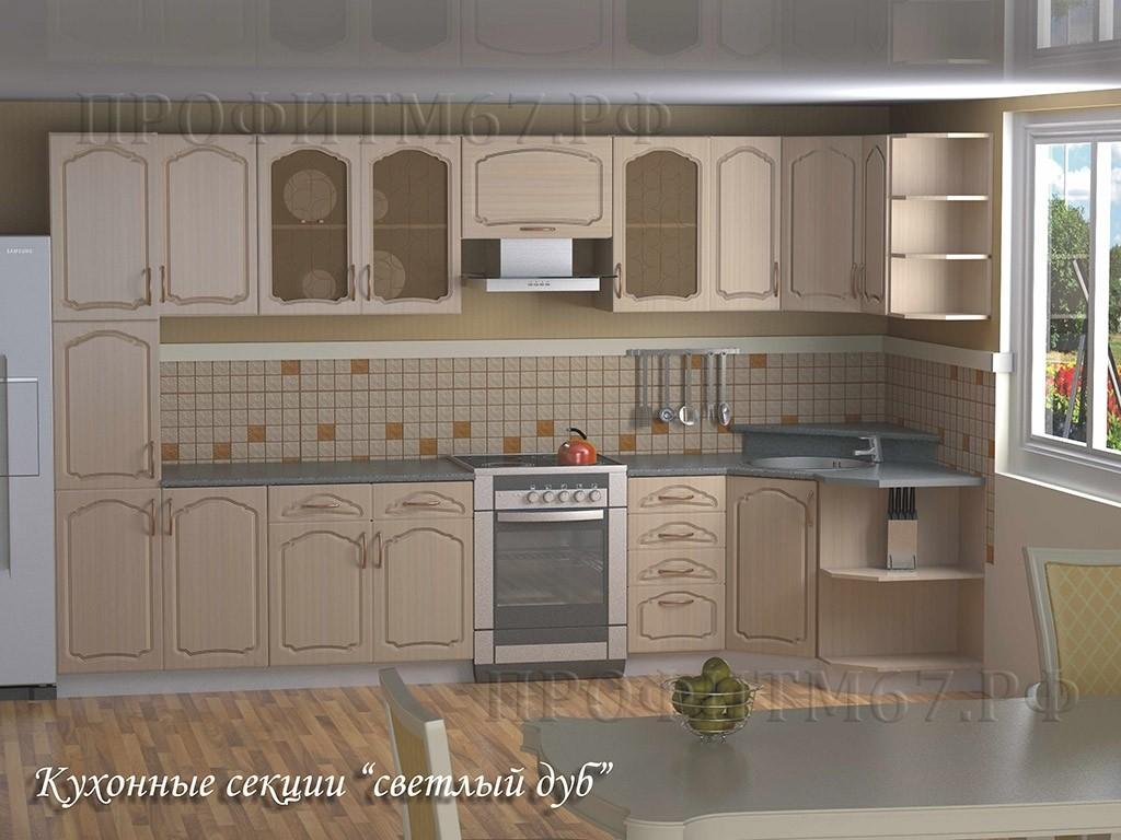 "Кухонные модули ""Светлый дуб"""