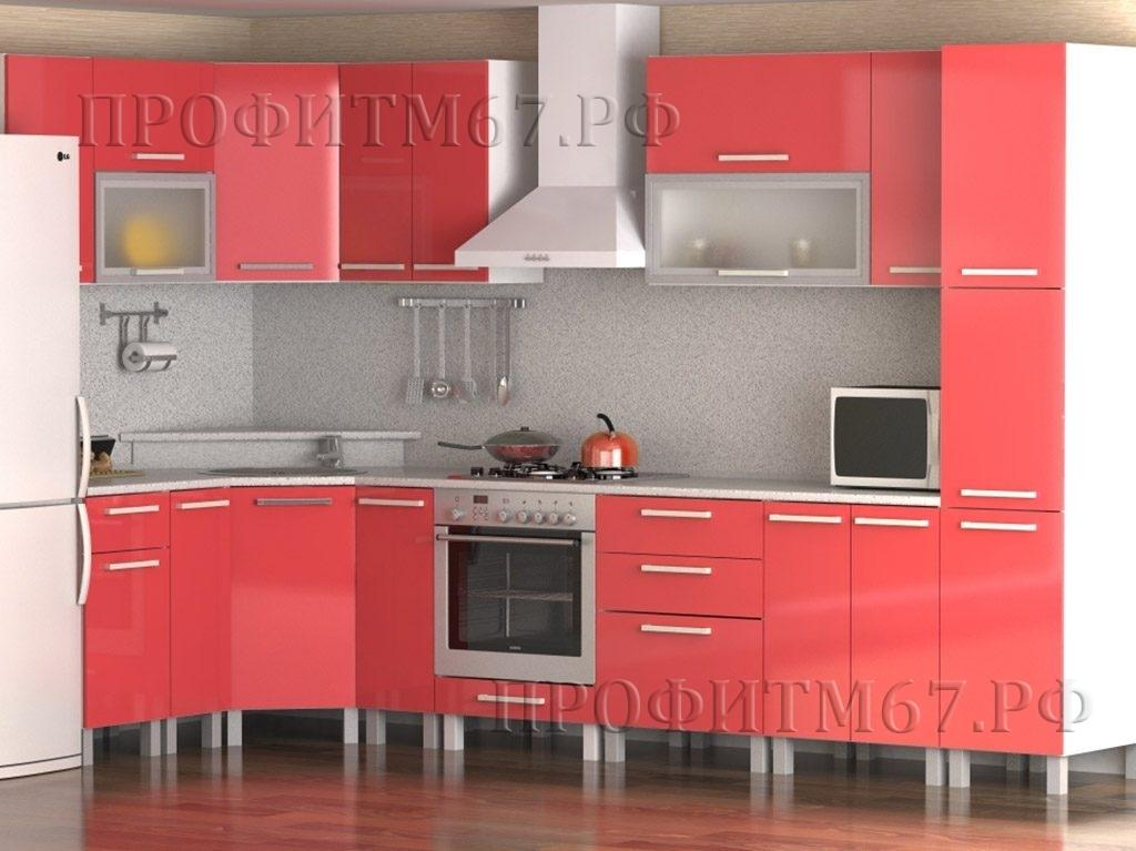 """Кухонные модули """"Коралл"""" (лак.)"""