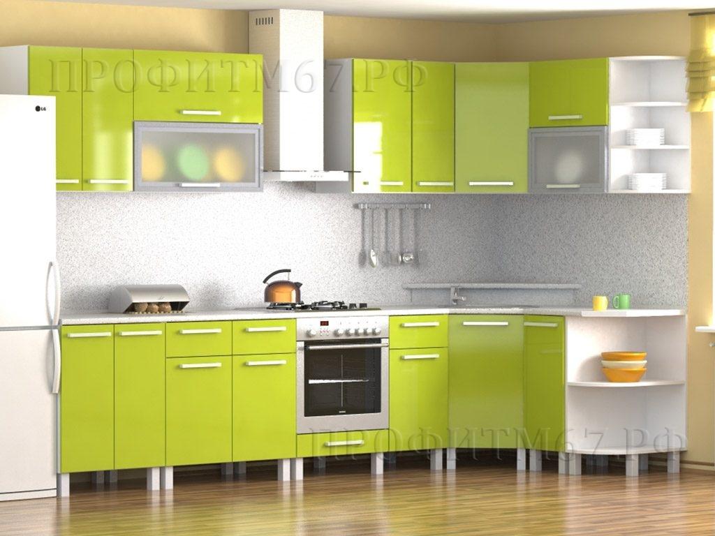 "Кухонные модули ""Лайм"" (лак.)"