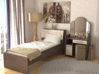 Кровать стиль односпальная