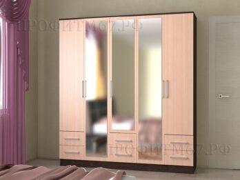 Шкаф 5-створчатый №2 ЛДСП