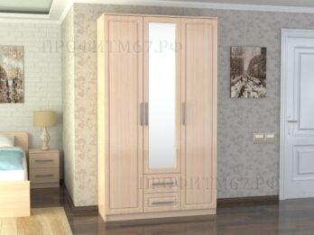 Шкаф 3-х створчатый №2 МДФ