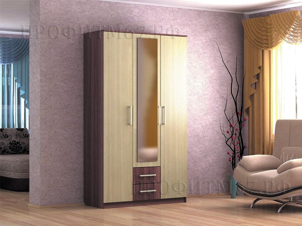 Шкаф 3-створчатый №2 ЛДСП