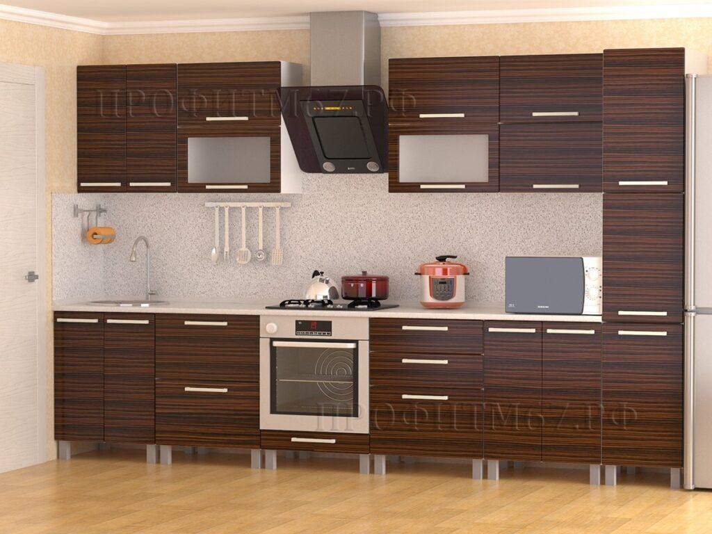 """Кухонные модули """"Эбен глянец"""""""