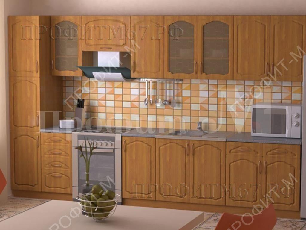 """Кухня МДФ """"Ольха"""""""